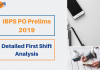IBPS PO Pre Exam Analysis