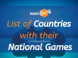 List of Countries with their National Games