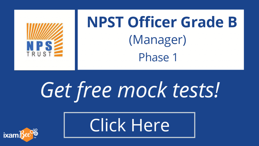 NPST Grade B 2021 Free Mock Tests