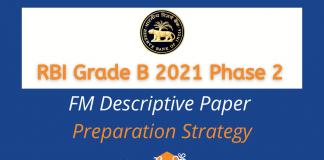 RBI Grade B 2021 Phase 2 FM Descriptive