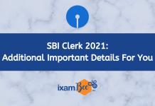 SBI CLERK 2021