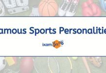 Famous Sports Personalities