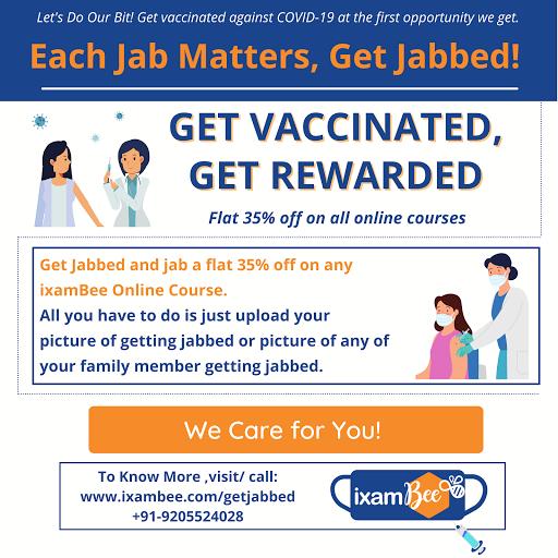 Get Vaccinated, Get rewarded.