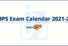 IBPS Exam Dates