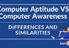 Computer Awareness and Computer Aptitude