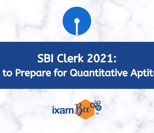 SBI Clerk Quantitative Aptitude