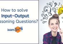 Input Output Reasoning questions