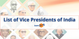 Vice Presidents of India