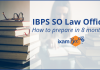 IBPS SO Law Officer