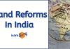 Land Reforms in India