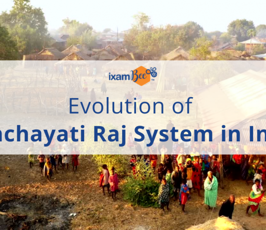 Evolution of the Panchayati Raj System in India.