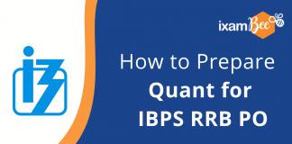 IBPS RRB PO 2021- How to Prepare for Quantitative Aptitude.