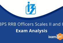 IBPS RRB 2020 Officer Scale 2 and 3 Exam Analysis.