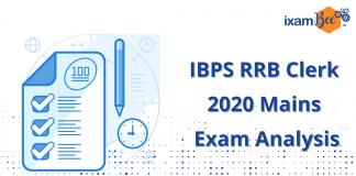 IBPS RRB Clerk 2020 Mains Exam Analysis