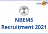 NBEMS Recruitment Exam 2021.