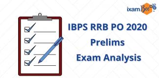 IBPS RRB PO 2020 Prelims Exam Analysis.
