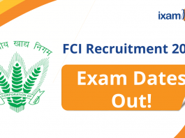 FCI AGM 2021: Check All Exam Dates and Details. Exam Date Notification Released.