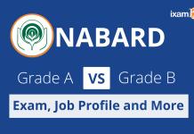 NABARD Grade A vs NABARD Grade B.