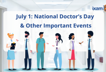July 1: National Doctor's Day and Other Important Events- National CA Day, GST Day.