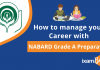 Prepare Nabard Grade A with full-time job