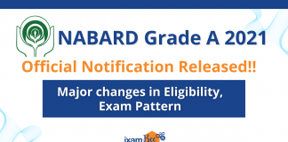NABARD Grade A 2021 Official Notification Released!