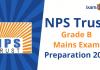 NPS Trust Mains Exam Preparation 2021. Preparation Tips.