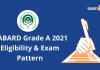 NABARD Grade A 2021
