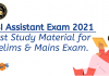 RBI Assistant Prelims and Mains Study Material