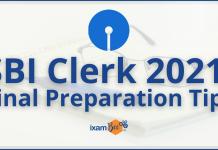 SBI Clerk 2021: Best Preparation Tips.