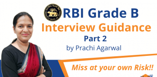 Ace RBI Grade B Interview with Prachi Agarwal – Part 2.