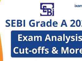 SEBI Grade A Exam Analysis 2020.