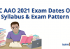 LIC AAO 2021 Exam Dates Out