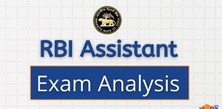 RBI Assistant Exam Analysis