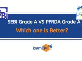 SEBI Grade A Vs PFRDA Grade A