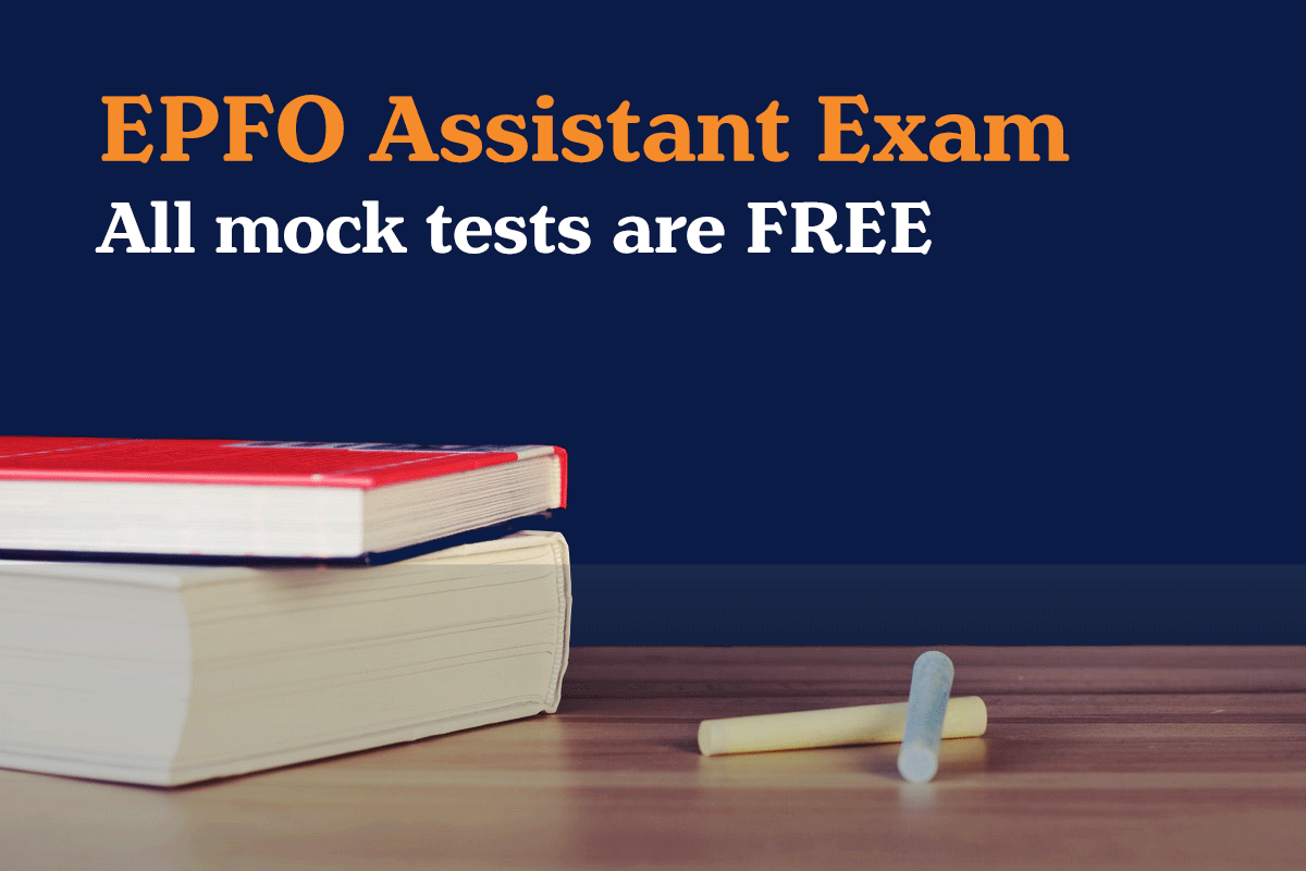 EPFO Assistant free mock test