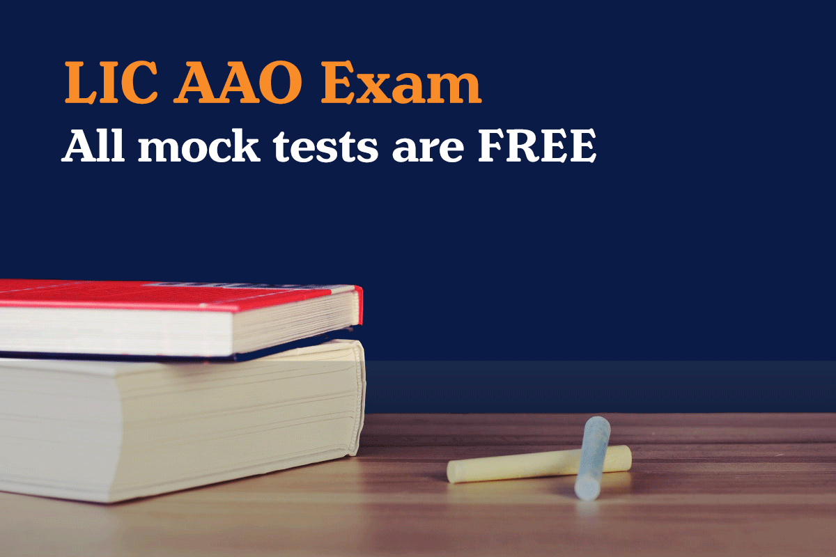 LIC AAO Exam free mock test