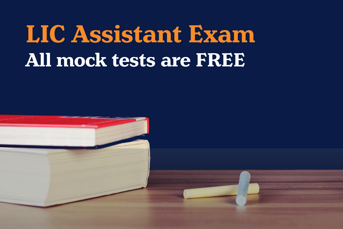 LIC Assistant Exam free mock test
