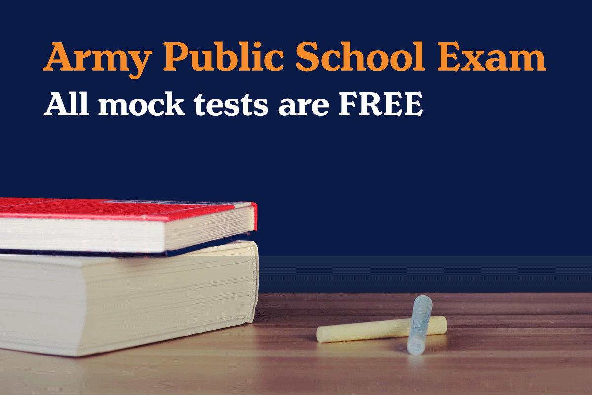 army public school exam free mock test