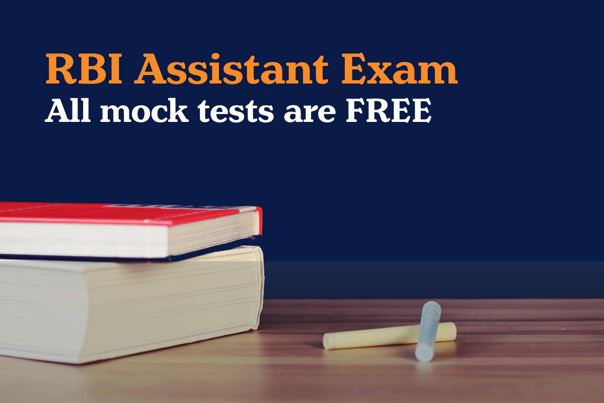 rbi assistant Free mock tests